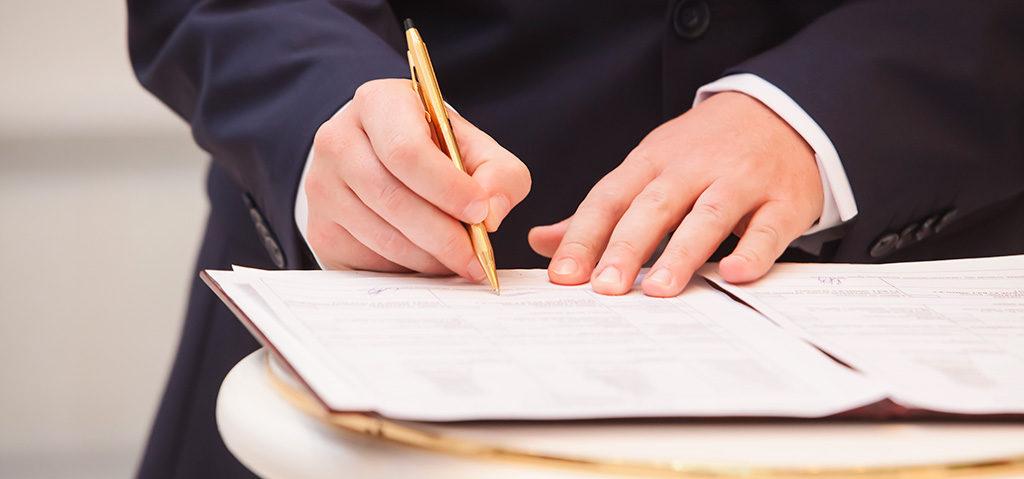 Registro de la propiedad, Registro mercantil y Registro civil